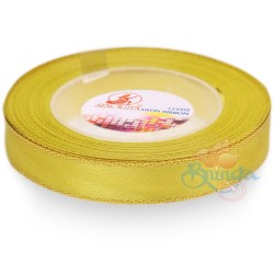 12mm Senorita Gold Edge Satin Ribbon - Corn 2G