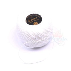145m Anchor Thread Tatting White