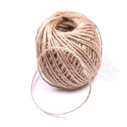50m Soft Brown Jute Twine