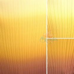 "Chiffon Fabric Pleated 3 Tone Yellow Orange Brown 60"" Wide - 5 Meters"