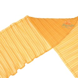 15cm Chiffon Pleated Trimming Golden Rod - 1 Meter