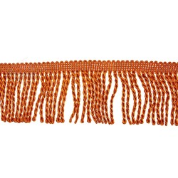 Curtain Cord Trimming Bronze Orange - 1 Meter