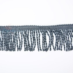Curtain Cord Trimming Dark Grey - 1 Meter