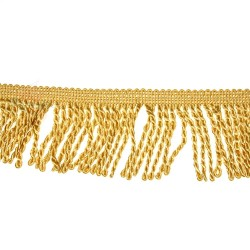 Curtain Cord Trimming Golden Rod - 1 Meter
