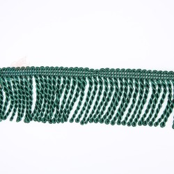 Curtain Cord Trimming Green - 1 Meter