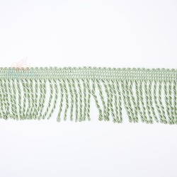 Curtain Cord Trimming Light Green - 1 Meter