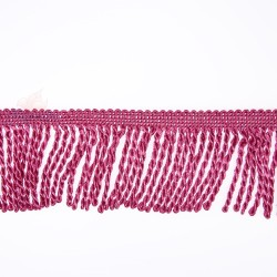 Curtain Cord Trimming Magenta - 1 Meter