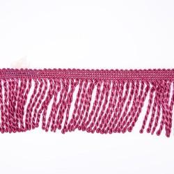 Curtain Cord Trimming Magenta - 1 Meter