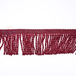 Curtain Cord Trimming Maroon - 1 Meter