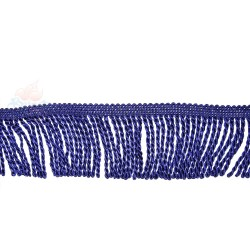 Curtain Cord Trimming Navy Blue - 1 Meter