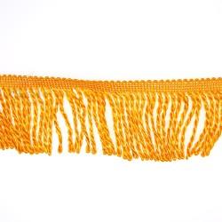 Curtain Cord Trimming Orange - 1 Meter