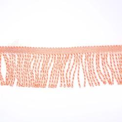 Curtain Cord Trimming Peach - 1 Meter