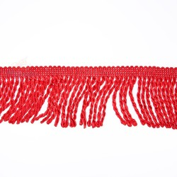 Curtain Cord Trimming Red - 1 Meter