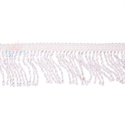 Curtain Cord Trimming White - 1 Meter