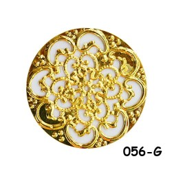 Brass Filigree Findings 056 Gold - 100gram