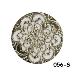 Brass Filigree Findings 056 Silver - 20gram