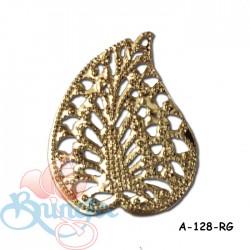 Filigree Findings A-128 Rose Gold - 100gram