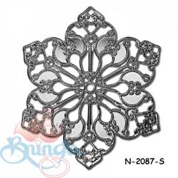 Filigree Findings N-2087 Silver - 20gram
