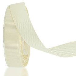 15MM GROSGRAIN RIBBON SOLID COLOR - #01