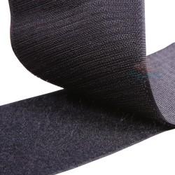 Velcro Black 10CM - 1 Meter