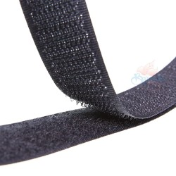 Velcro Black 2CM - 1 Meter