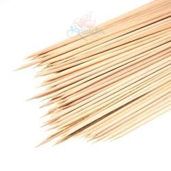 """10"""" Inch Bamboo Stick - 100pcs"""