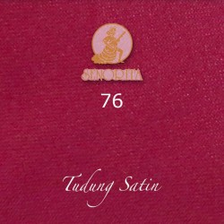 "Senorita Scarf Tudung Bawal Satin Plain 45"" Crimson Pink - #76"
