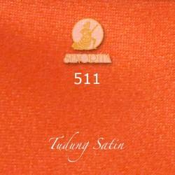 "Senorita Scarf Tudung Bawal Satin Plain 45"" Deep Orange - #511"