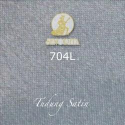"Senorita Scarf Tudung Bawal Satin Plain 45"" Light Grey - #704L"