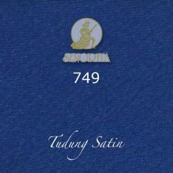 "Senorita Scarf Tudung Bawal Satin Plain 45"" Pool Blue - #749"