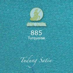 "Senorita Scarf Tudung Bawal Satin Plain 45"" Turquoise - #885"