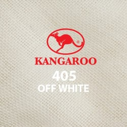 "Kangaroo Scarf Tudung Bawal Plain 45"" Plain Off White #405"