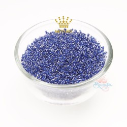 MIYUKI Round Bead - Blue #215 (100gram/pack)