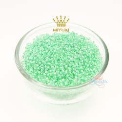 MIYUKI Round Bead - Green #219 (100gram/pack)