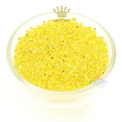 MIYUKI Round Bead - Yellow #35 (100gram/pack)