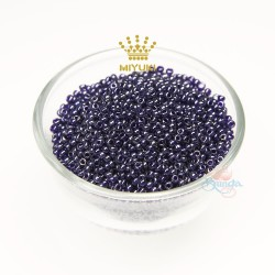 MIYUKI Round Bead - Purple #49102 (100gram/pack)