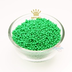 MIYUKI Round Bead - Green #53250 (100gram/pack)