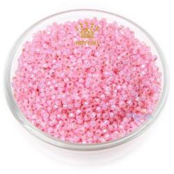 MIYUKI Round Bead - Pink #555-O (100gram/pack)