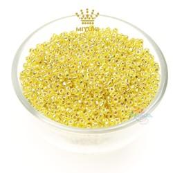 MIYUKI Round Bead - Yellow #636 (100gram/pack)