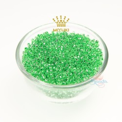 MIYUKI Round Bead - Green #813 (100gram/pack)