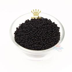 MIYUKI Round Bead - Black #M23980 (100gram/pack)