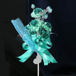 #2076 Wedding Flower Bunga Telur Teal Green - 20pcs/box