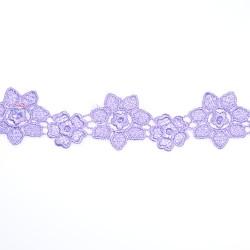 1034 Small Chemical Prada Lace Light Purple - 1 Meter