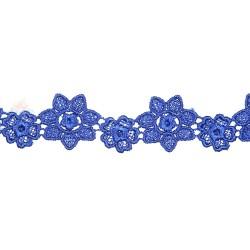 1034 Small Chemical Prada Lace Royal Blue - 1 Meter