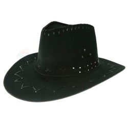 Mexico Cowboy Hat Black