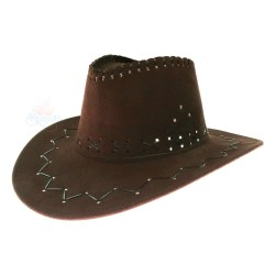 Mexico Cowboy Hat Dark Coffee