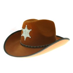 Polis Mexico Cowboy Hat Orange Brown