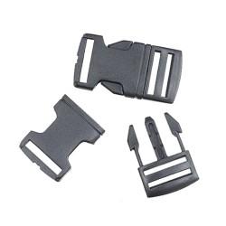 Plastic Buckle Lock 2.5CM - 2pcs/pack