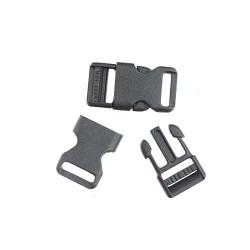 Plastic Buckle Lock 1.5CM - 2pcs/pack