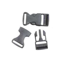 Plastic Buckle Lock 2CM- 2pcs/pack